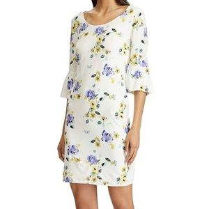 American Living White Floral Dress